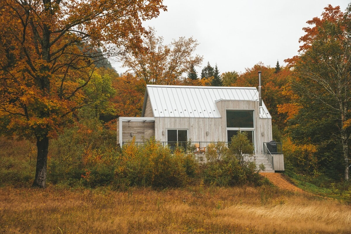 cabin airbnb near quebec city