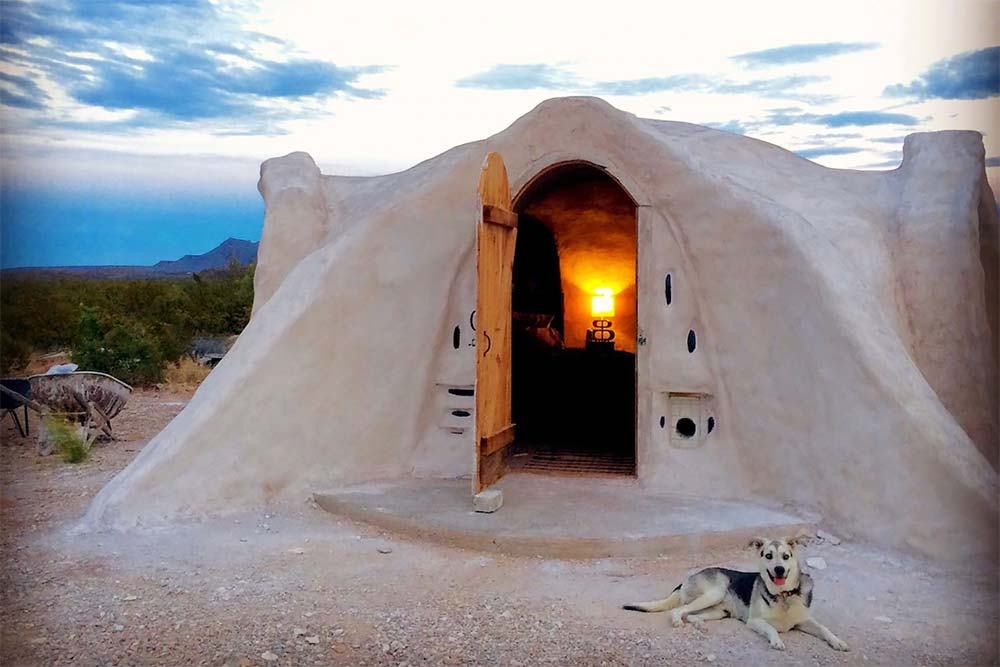 dome airbnb big bend