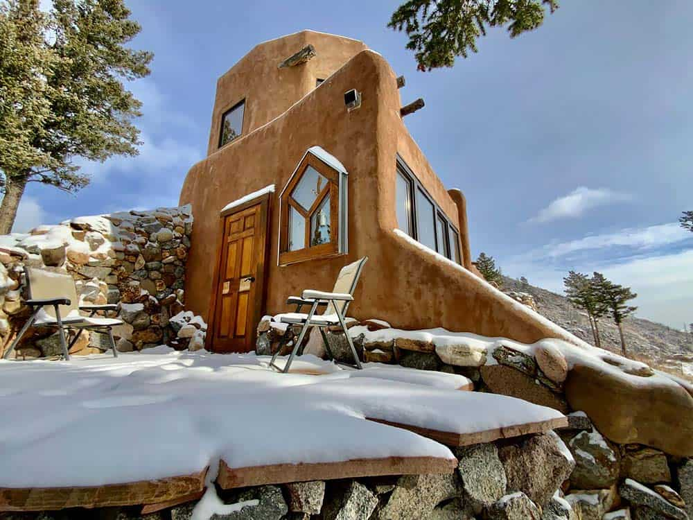 earth house airbnb boulder