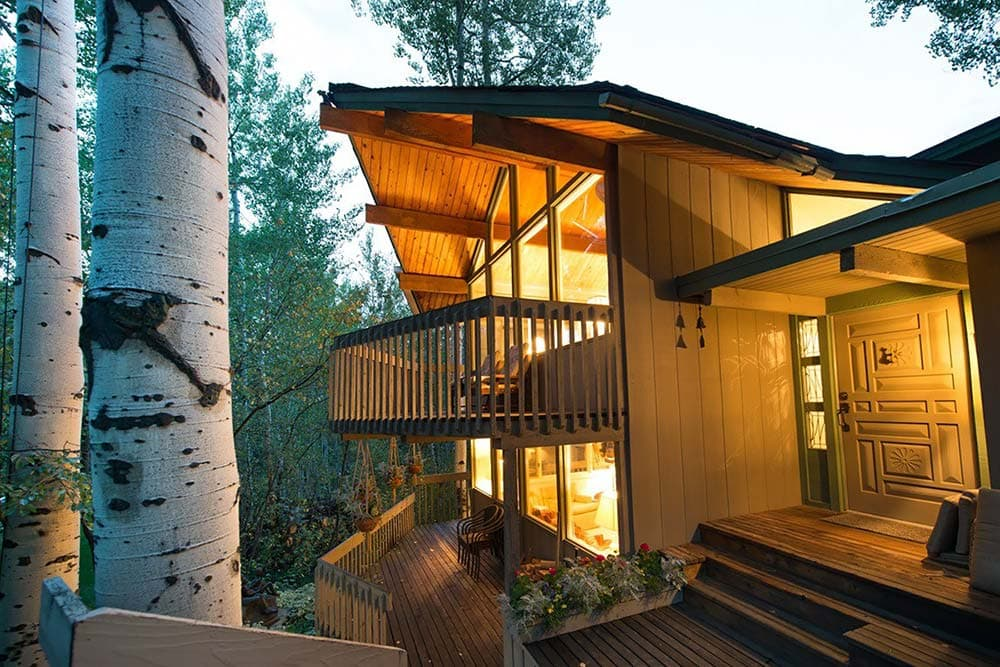 forest airbnb aspen colorado