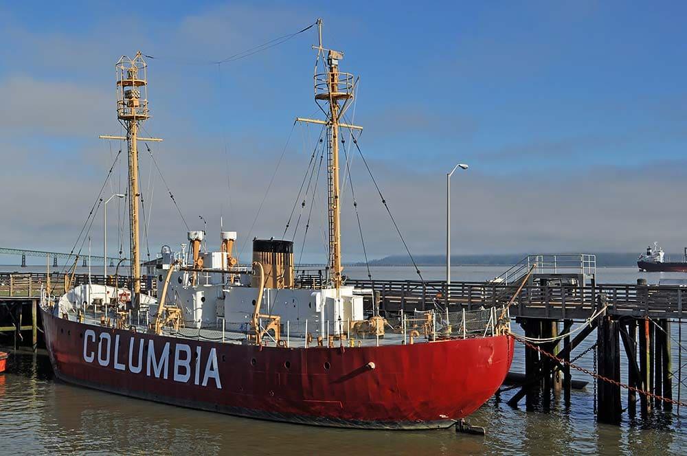 lightship columbia astoria oregon