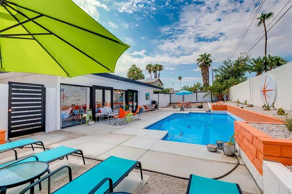 midcentury modern airbnb vegas