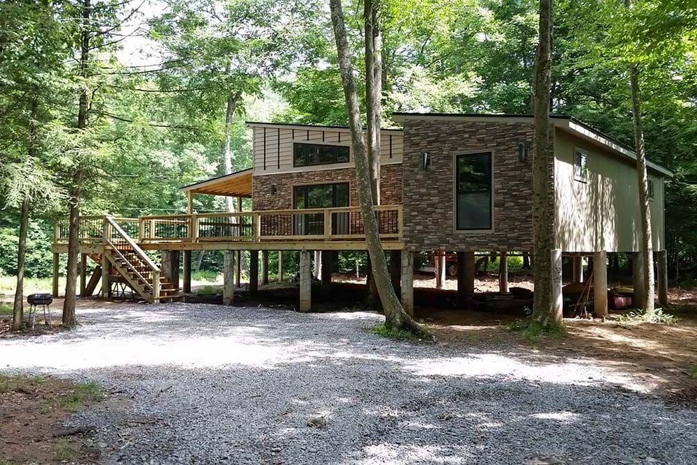 modern cabin airbnb west virginia