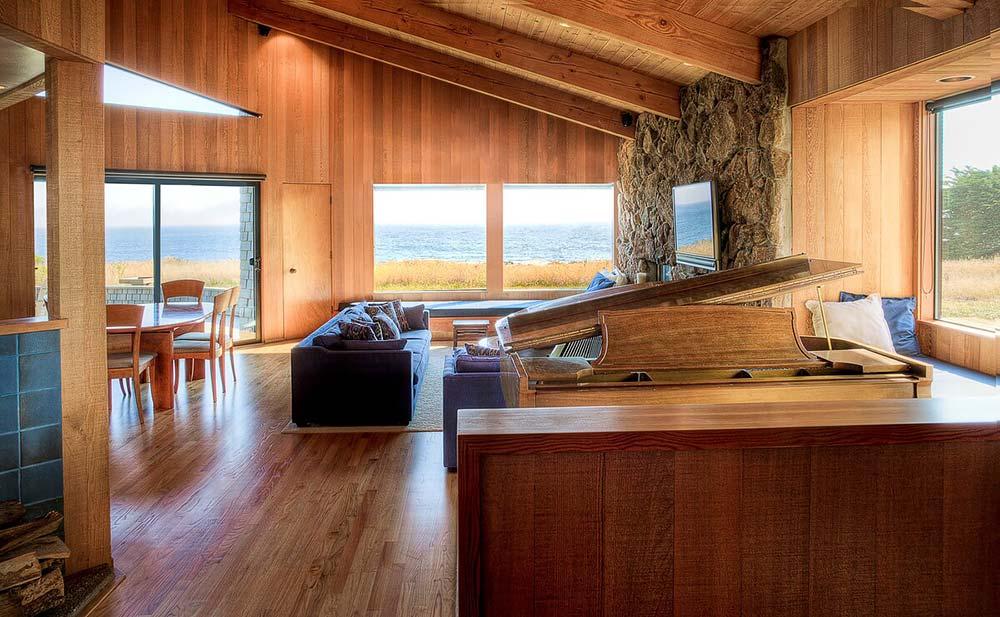 ocean front california airbnb