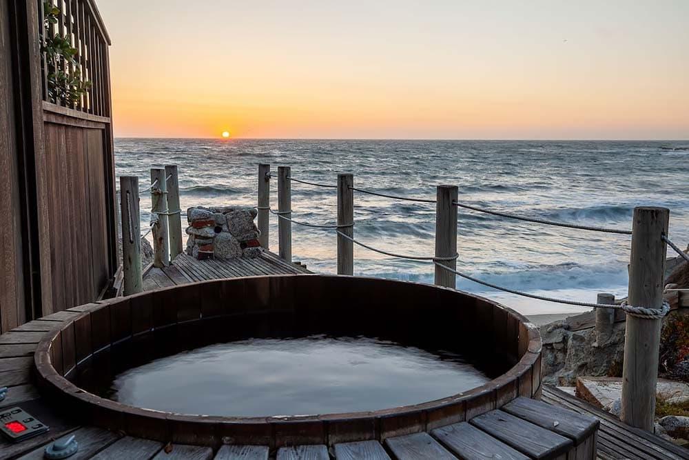 ocean sunset airbnb california