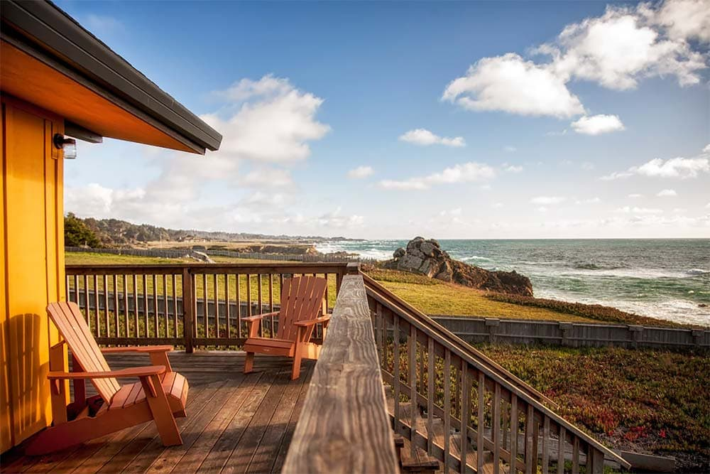 oceanfront mendocino coast airbnb