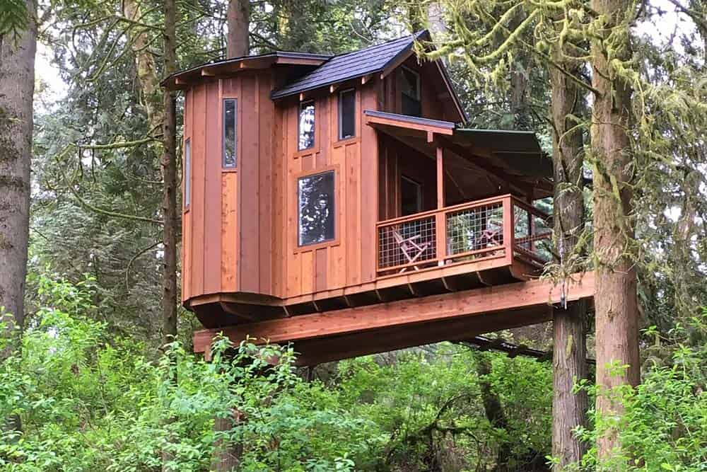 portland treehouse rental
