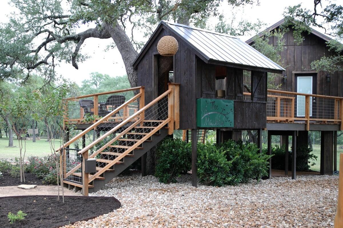 the machan treehouse tx