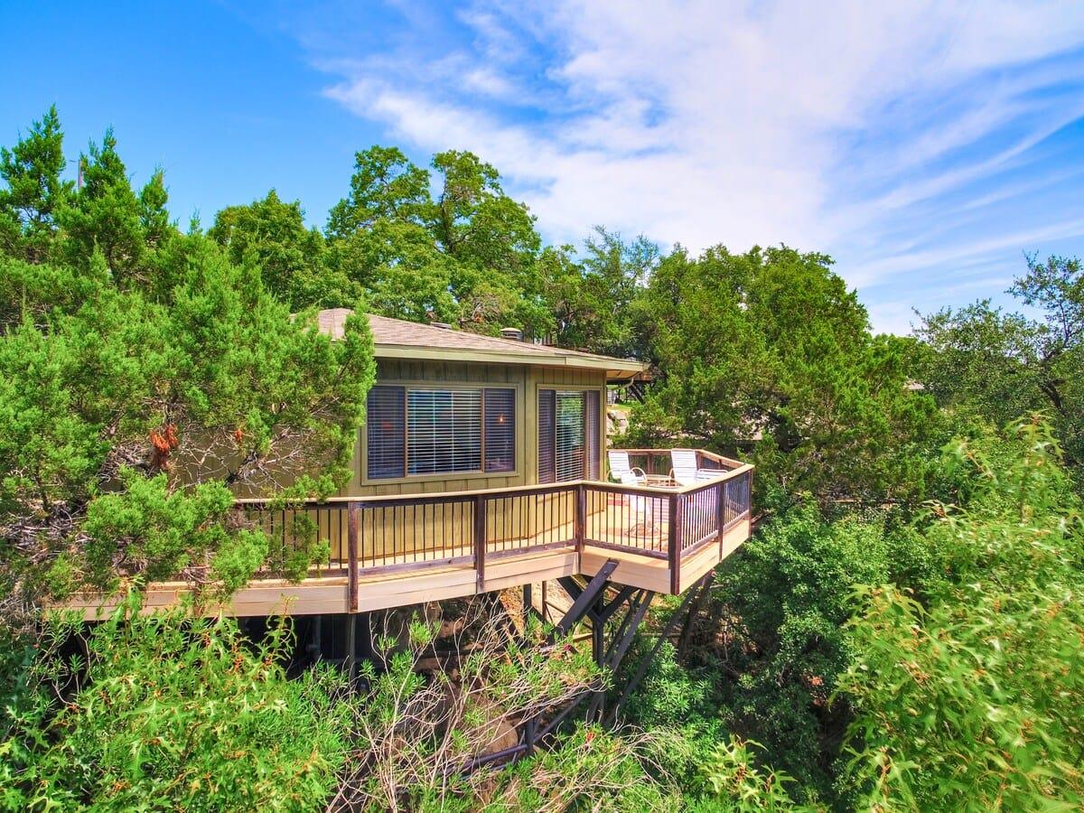 treehouse on lake travis texas