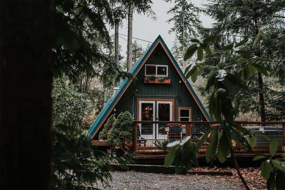 wander cabin washington airbnb