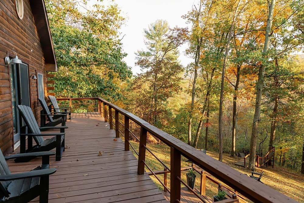 west virginia airbnb woods