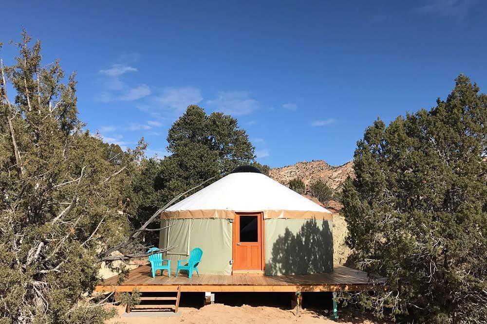 yurt glamping utah
