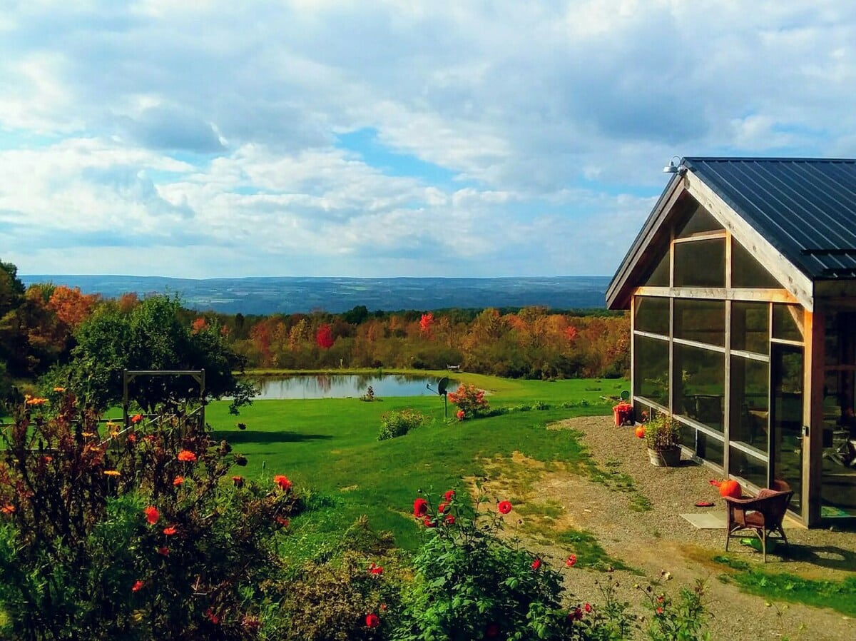Burdett Eco-Barn airbnb
