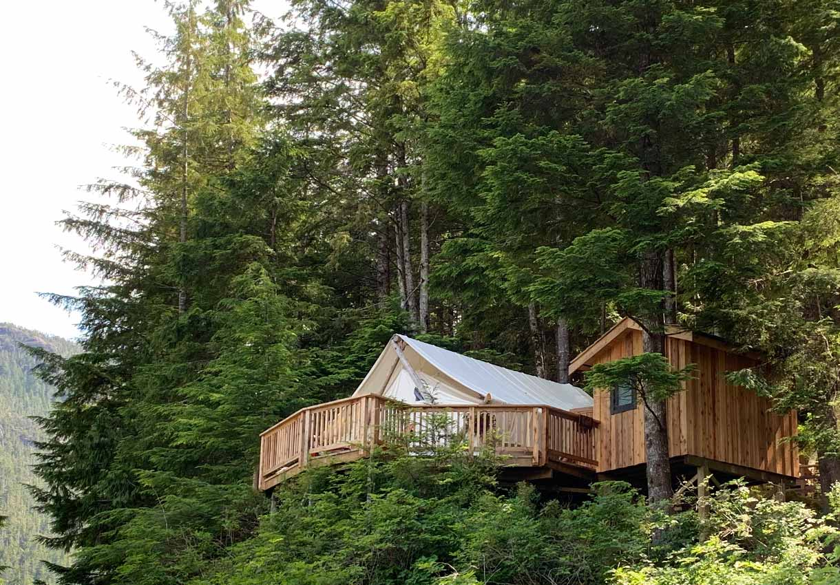 Clayoquot Wilderness Lodge glamping