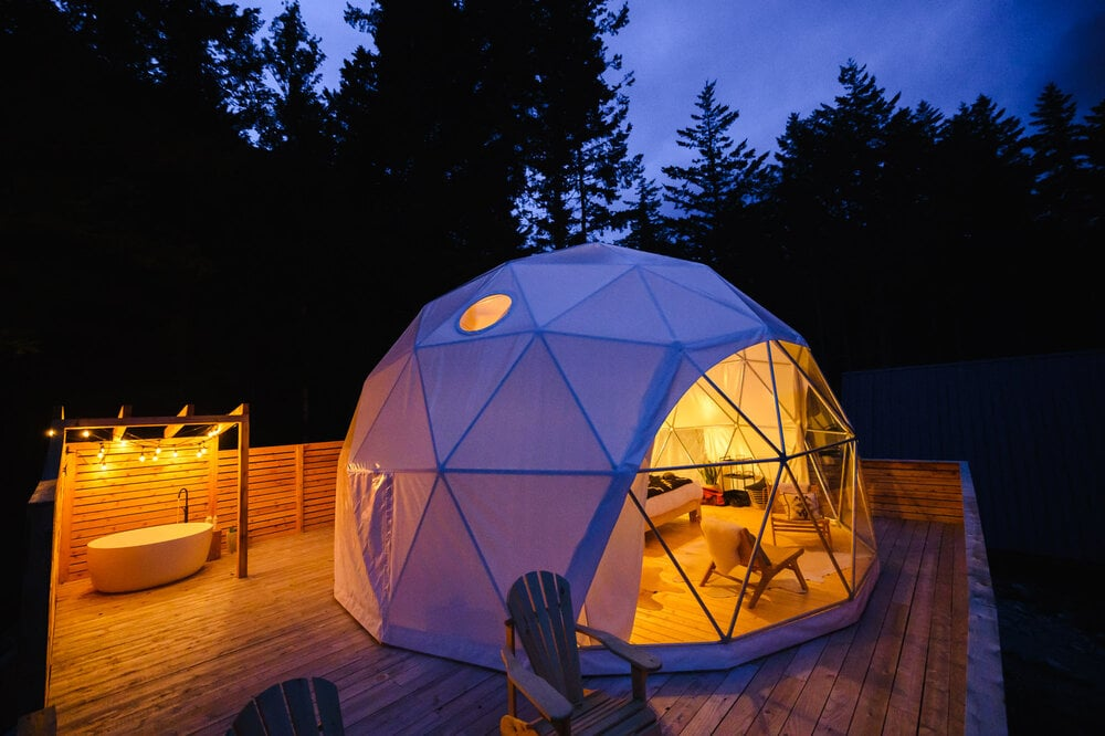 Firvale Wilderness Camp glamping british columbia