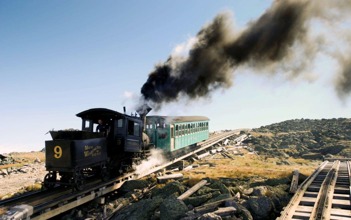 Mount Washington Cog Railway new england