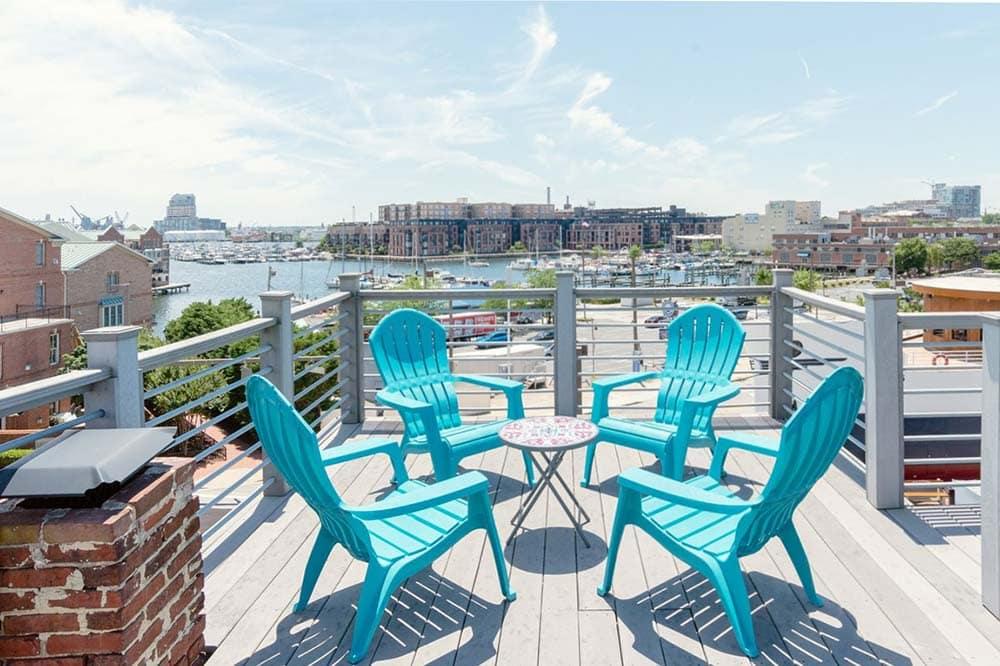 baltimore airbnb balcony