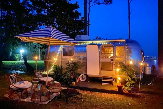 best glamping florida