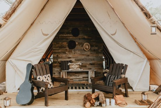 best glamping spots texas