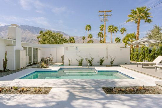best palm springs airbnb rentals with pool