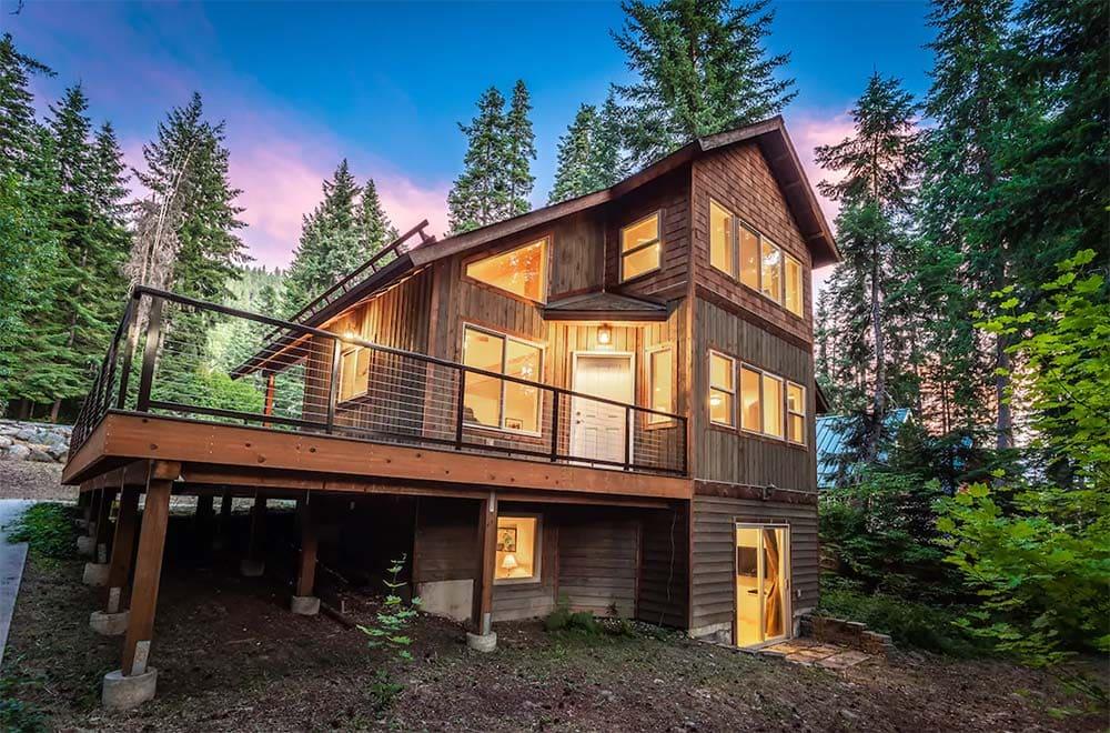 cabin airbnb leavenworth
