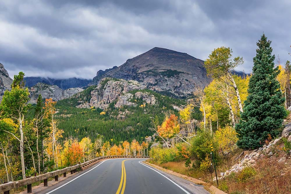 fall rocky mountain national park