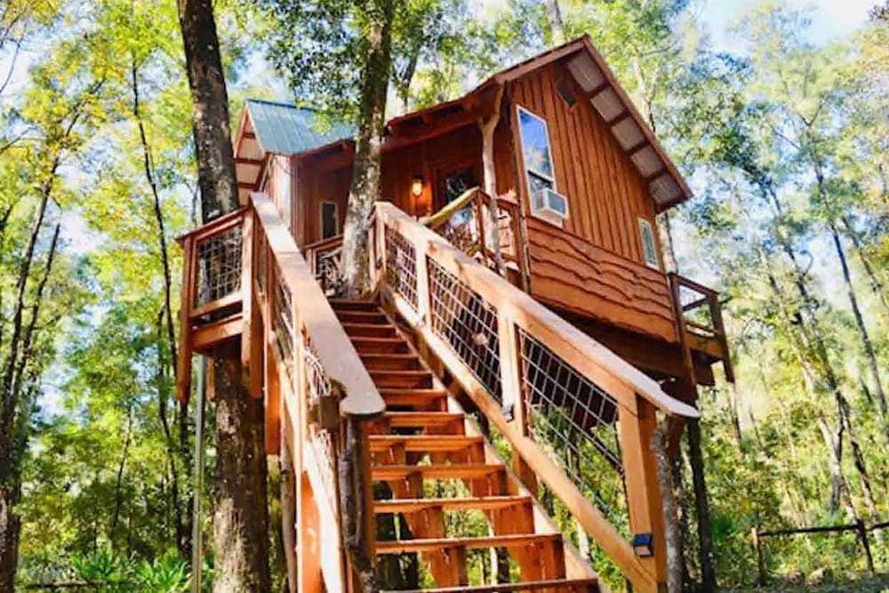florida glamping treehouse