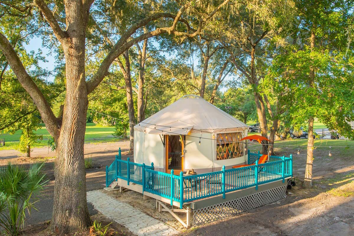 florida glamping yurt