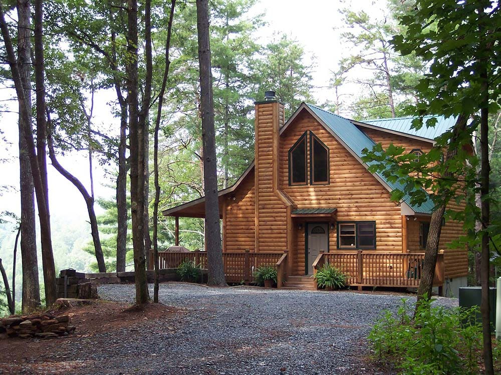 georgia secluded cabin airbnb