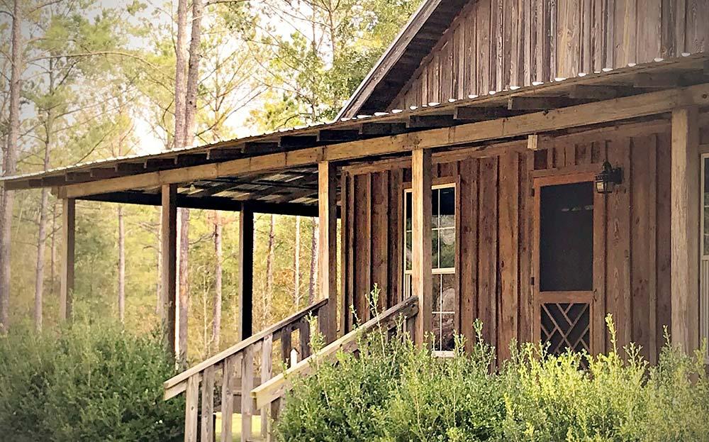 georgia secluded cabin