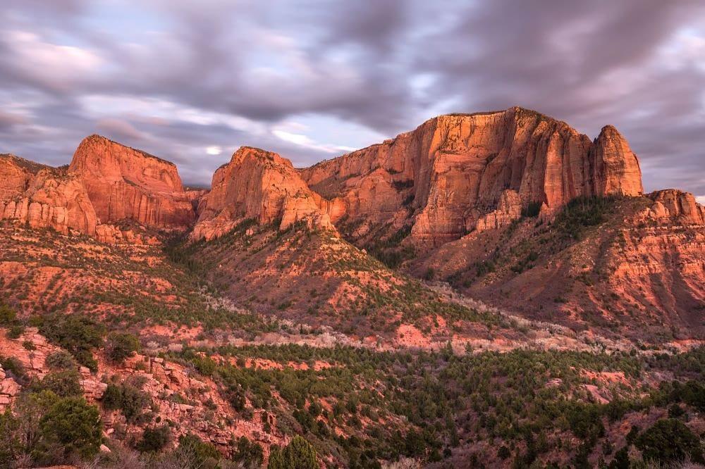 kolob canyons zion