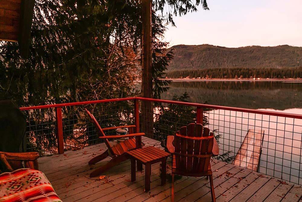 lakefront airbnb leavenworth