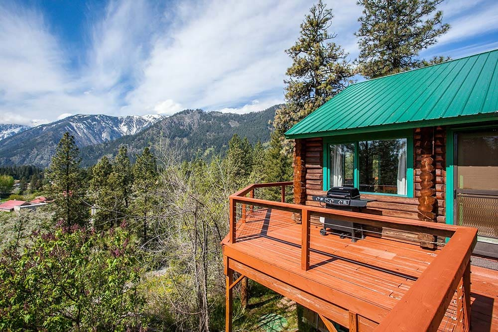 leavenworth airbnb mountain views