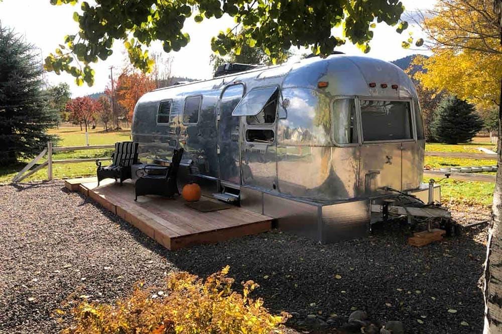 missoula airstream airbnb