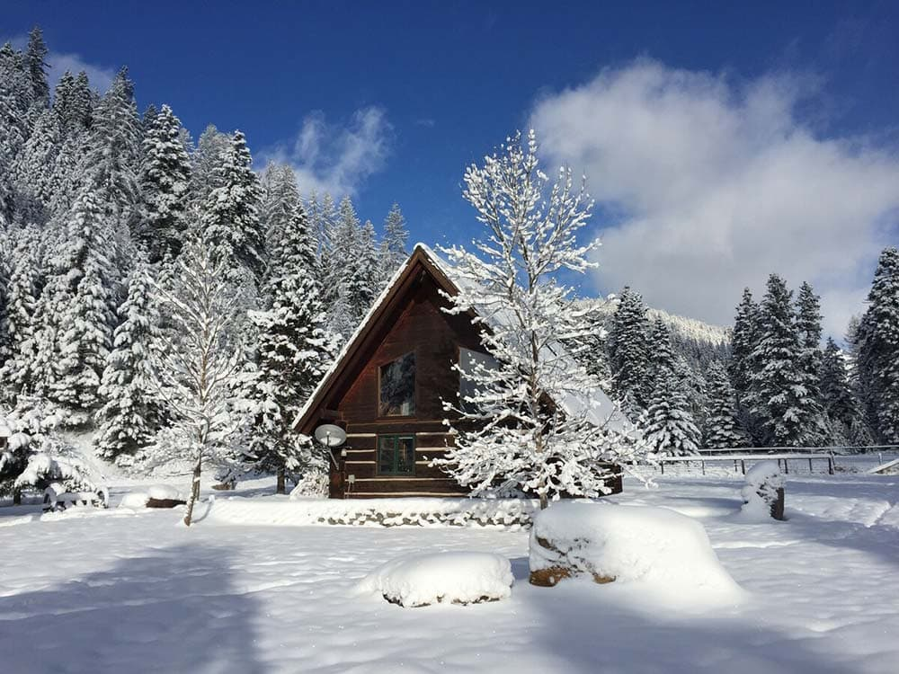 missoula secluded cabins