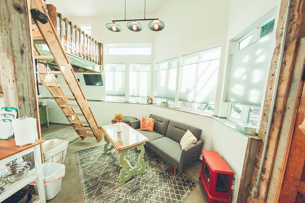 missoula tiny home vacational rental