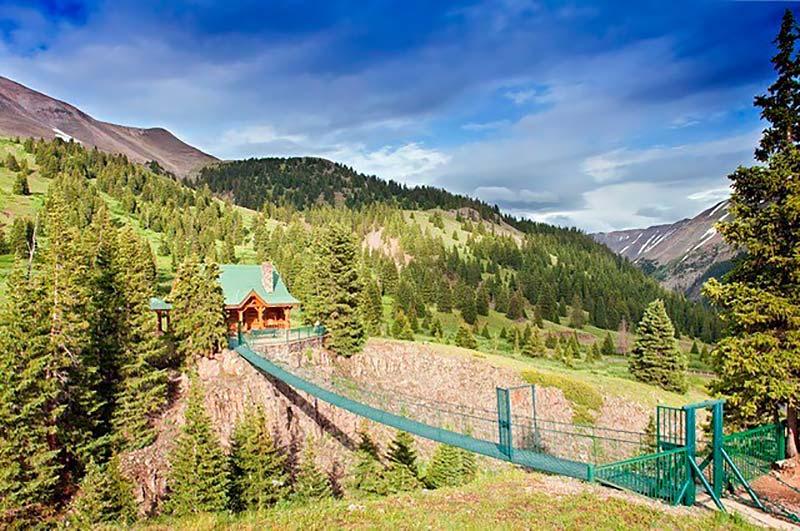 mountain cabin airbnb colorado
