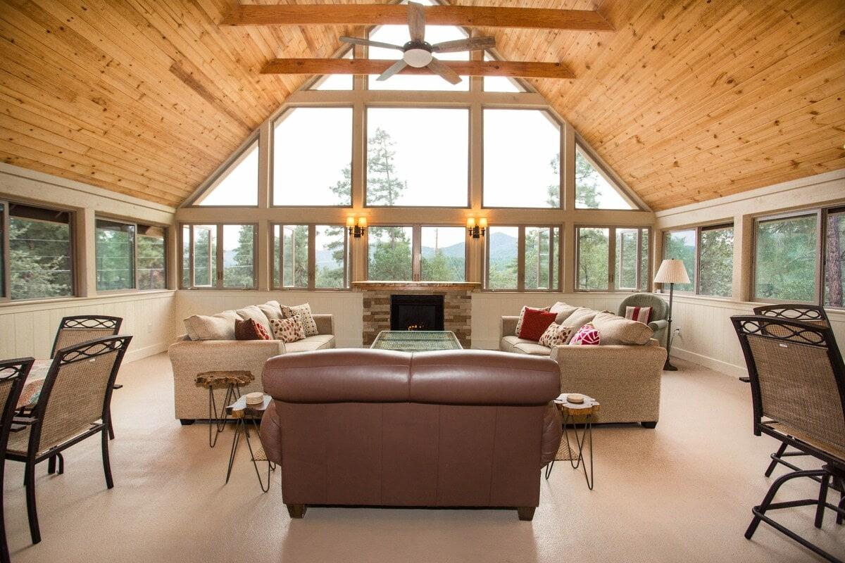 prescott cabin airbnb