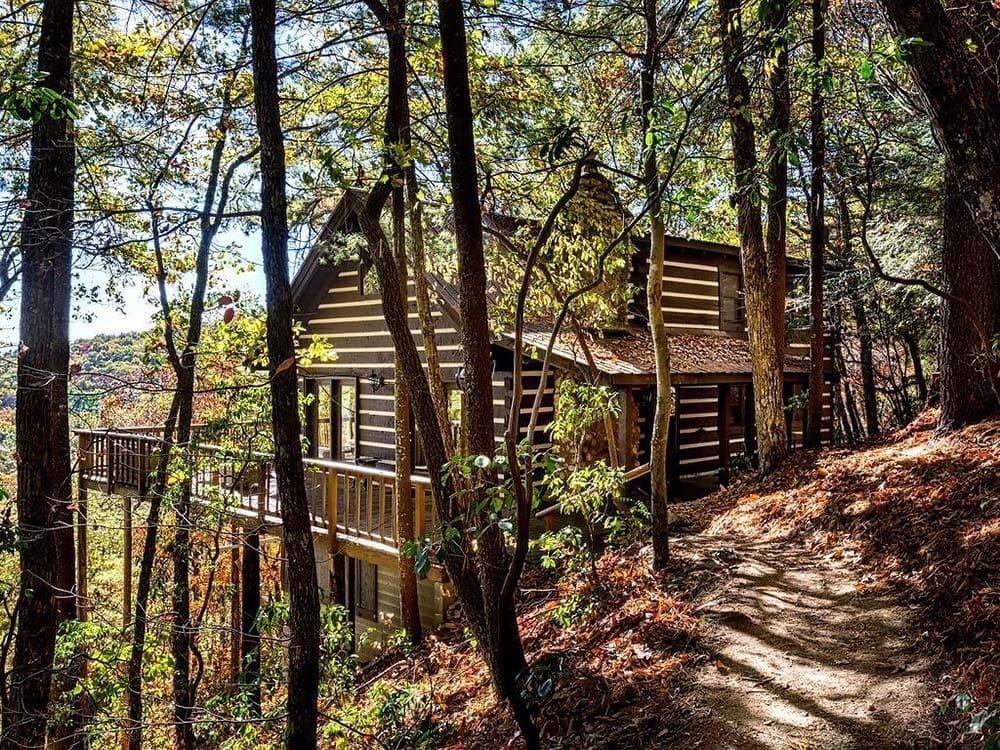 secluded georgia cabin rental