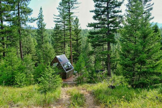 secluded montana cabin rentals