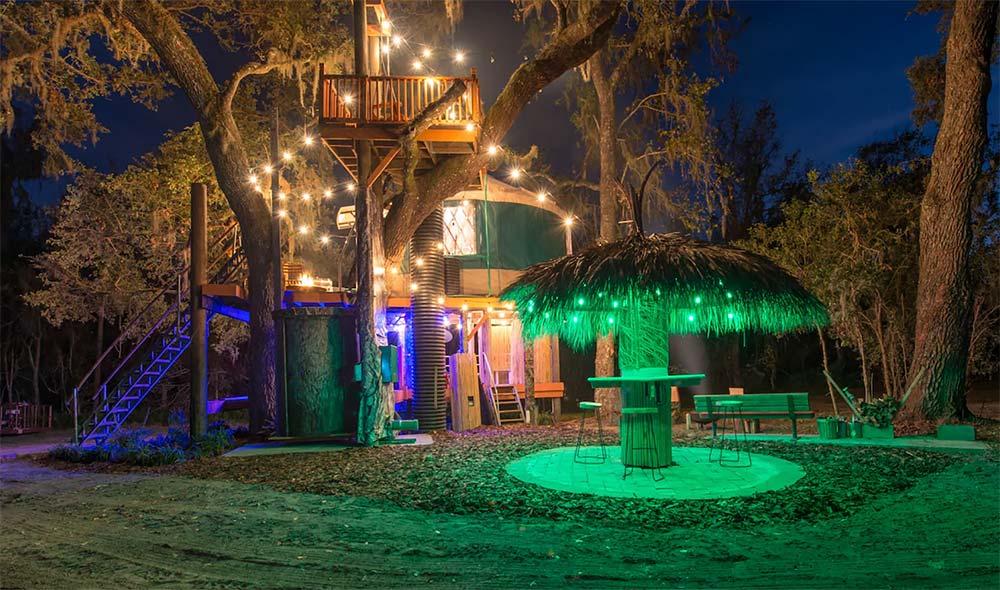 treehouse glamping florida