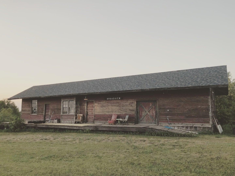 Unique Train Depot North Dakota