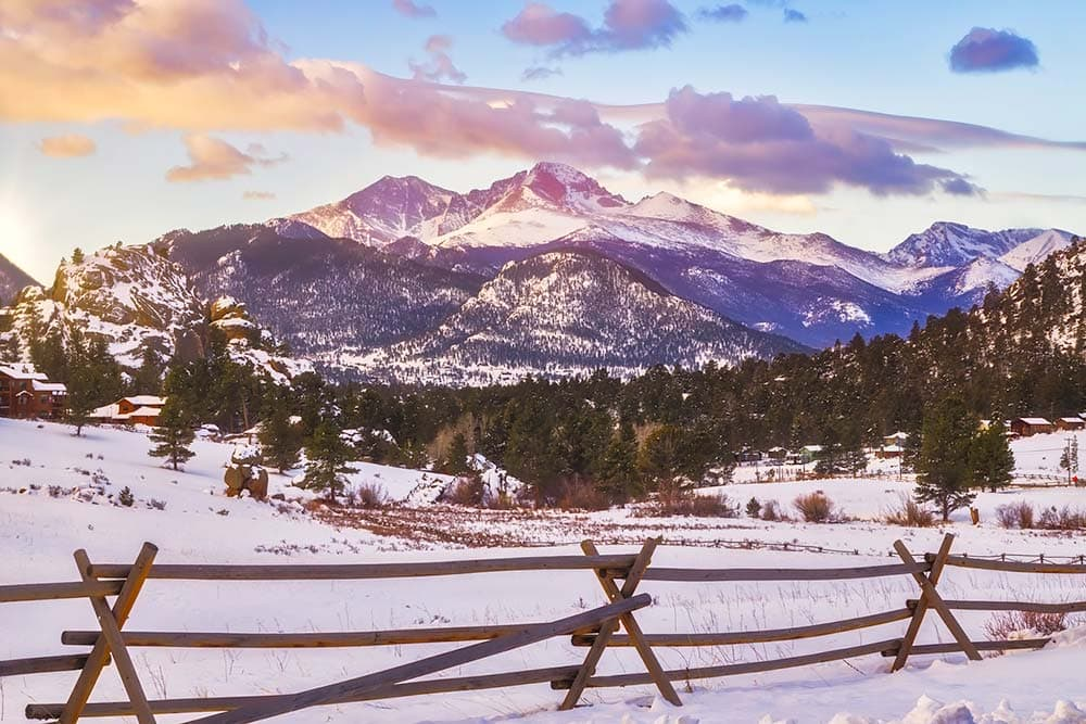 winter rocky mountain national park