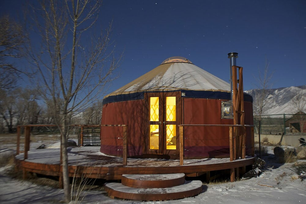 yurt glamping wyoming