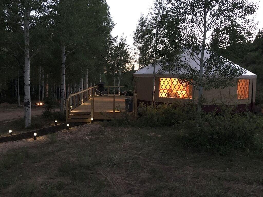 Angel Valley Ranch Yurt