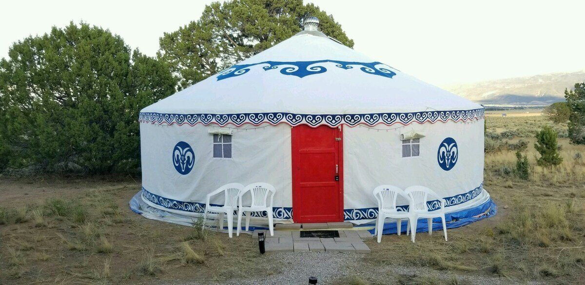 Cedar City Yurt utah