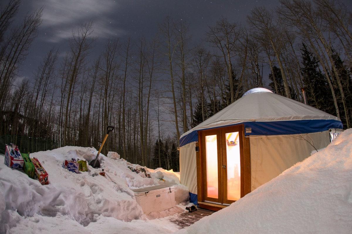 Gold Basin Yurt