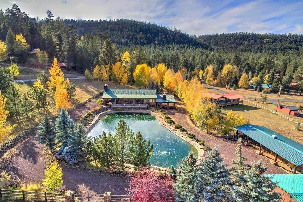Snover Lodge and Stables greer arizona vrbo