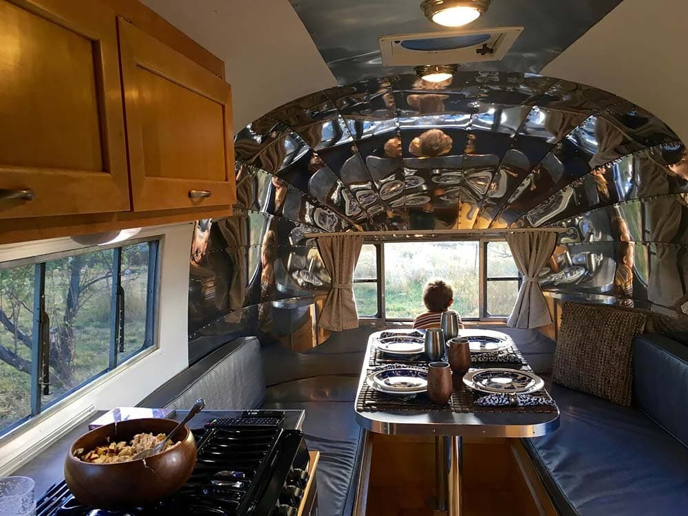 airstream glamping airbnb colorado