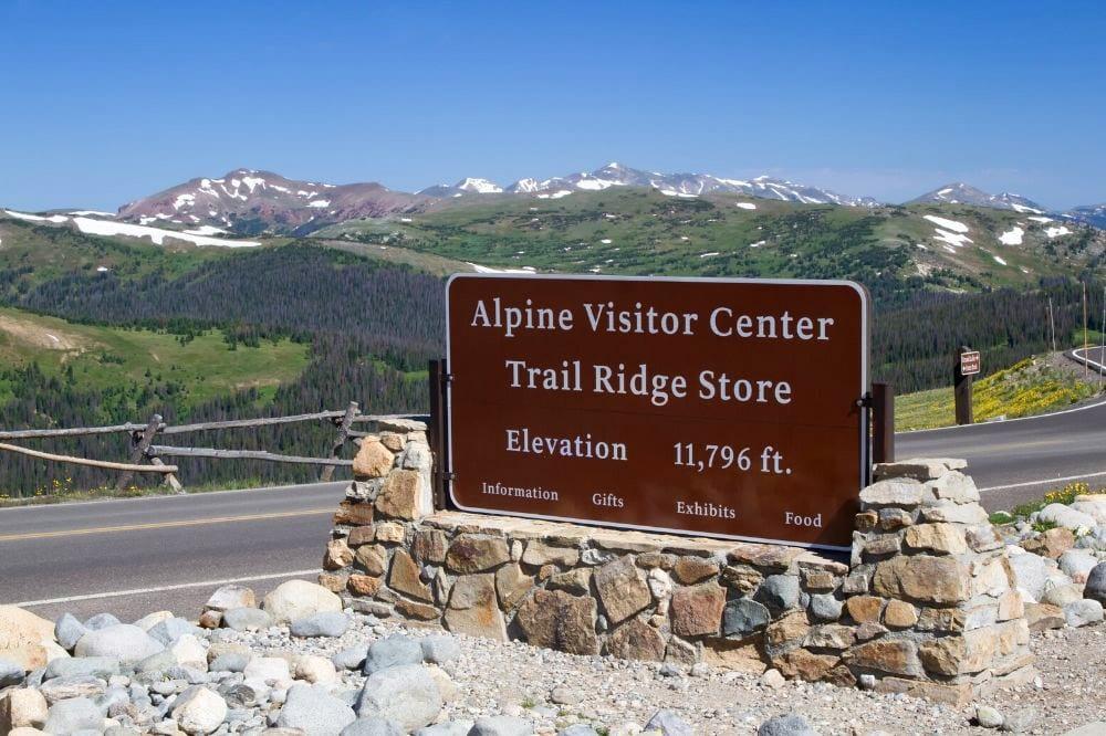 alpine visitor center rmnp